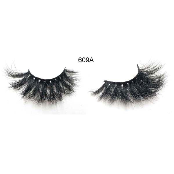 Dramatic Long Crossed Cruelty-free 609A Mink Eyelashes