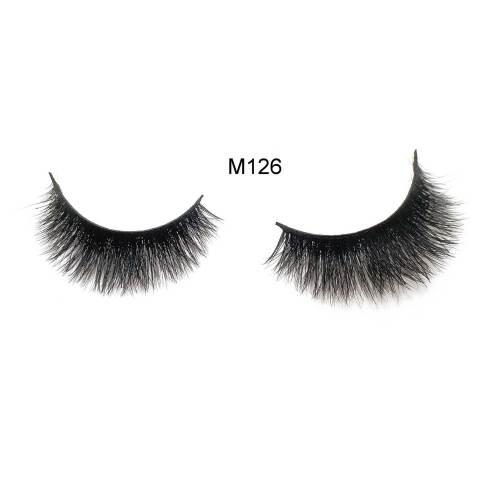 Luxury High Volume 3D Mink eyelashes Private Label