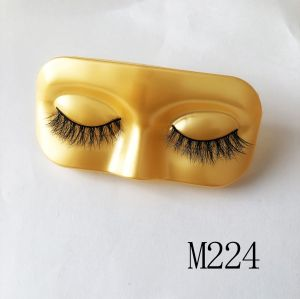 Top quality 14-18mm M224 style private label mink eyelash