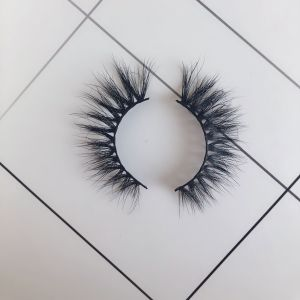 Top quality 14-18mm M633 style private label mink eyelash