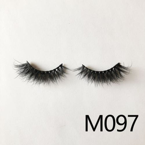 Top quality 14-18mm M097 style private label mink eyelash