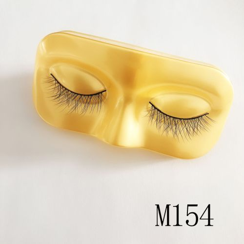 Top quality 14-18mm M154 style private label mink eyelash