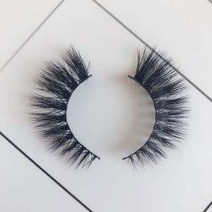 Top quality 14-18mm M803 style private label mink eyelash