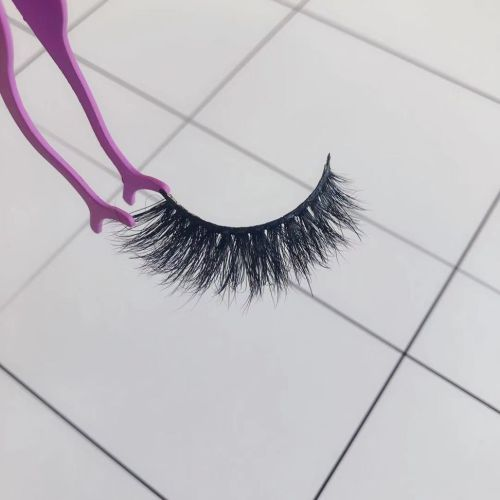Top quality 14-18mm M804 style private label mink eyelash