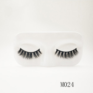 Top quality 14-18mm M024 style private label mink eyelash