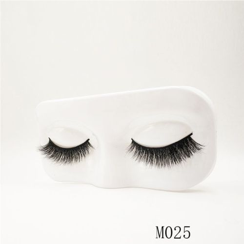 Top quality 14-18mm M025 style private label mink eyelash