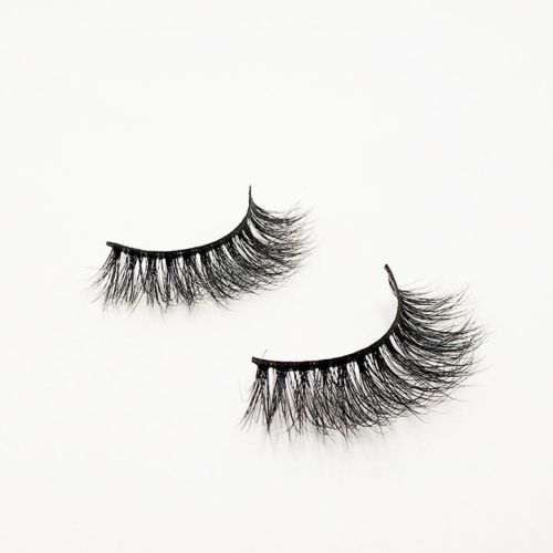 Top quality 14-18mm M044 style private label mink eyelash