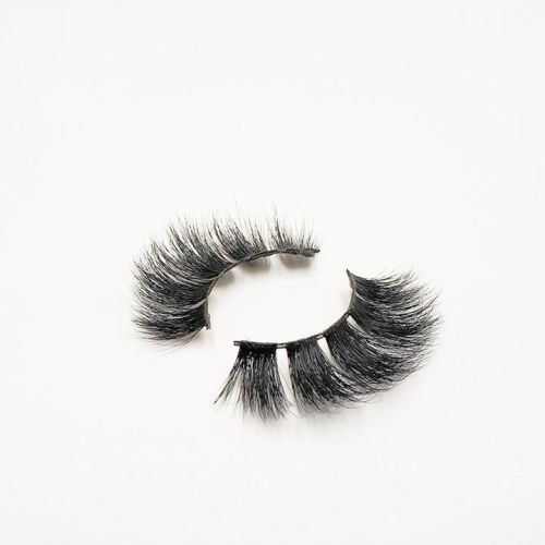 Top quality 14-18mm M051 style private label mink eyelash