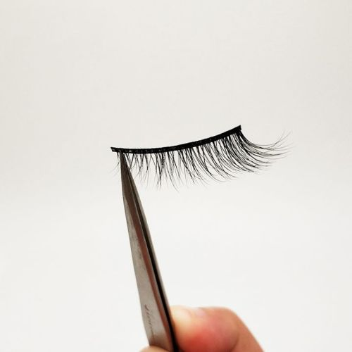 Top quality 14-18mm M055 style private label mink eyelash