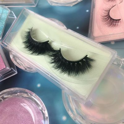 Top quality 14-18mm M060 style private label mink eyelash
