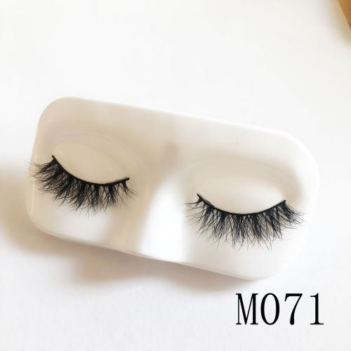Top quality 14-18mm M071 style private label mink eyelash