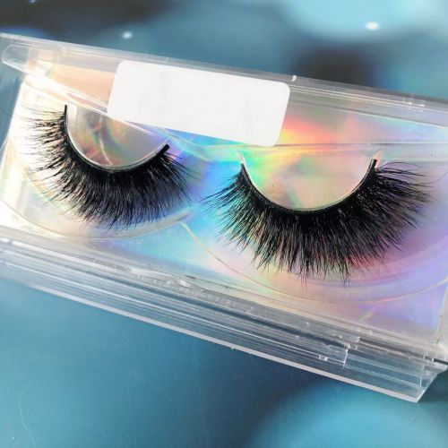 Top quality 14-18mm M076 style private label mink eyelash