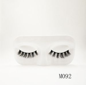Top quality 14-18mm M092 style private label mink eyelash