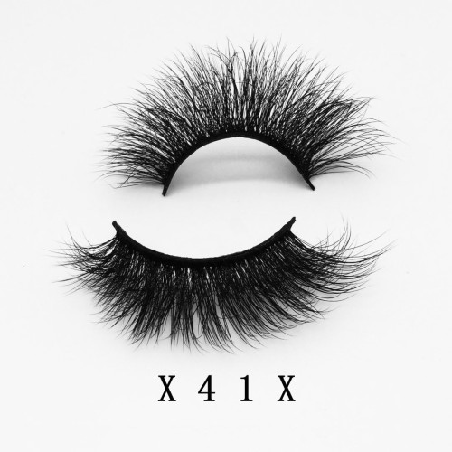 Top quality 20mm X41X style private label faux mink eyelash