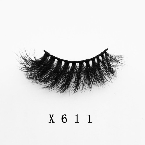 Top quality 20mm X611 style private label faux mink eyelash