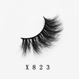Top quality 20mm X823 style private label faux mink eyelash