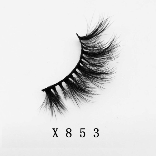 Top quality 20mm X853 style private label faux mink eyelash