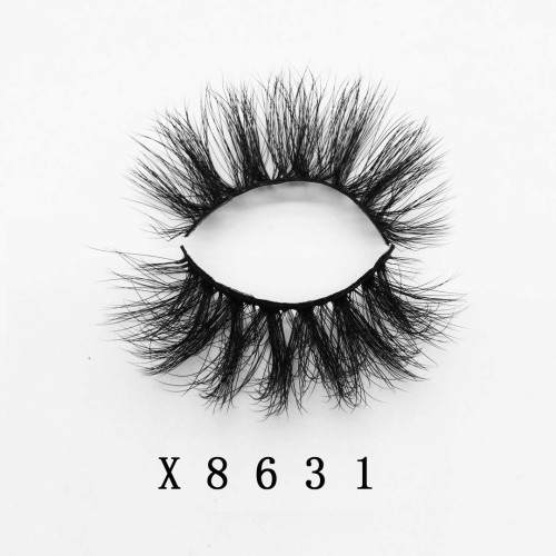 Top quality 20mm X8631 style private label faux mink eyelash