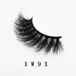 Top quality 20mm X753 style private label faux mink eyelash