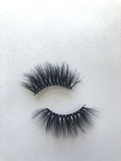 Top quality 25mm X46A style private label faux mink eyelash