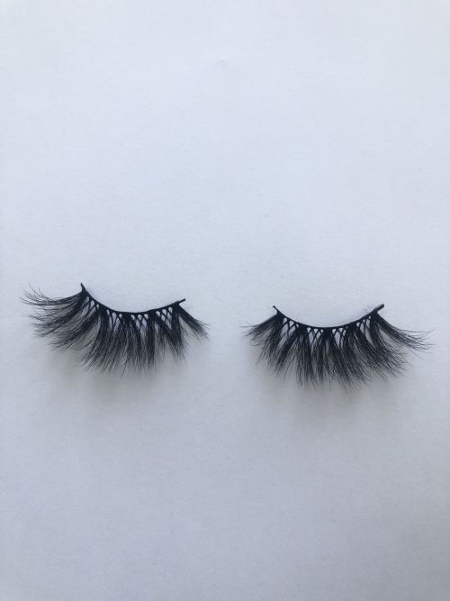Top quality 25mm X57A style private label faux mink eyelash