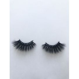 Top quality 25mm X112A style private label faux mink eyelash