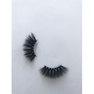 Top quality 25mm X70E style private label faux mink eyelash