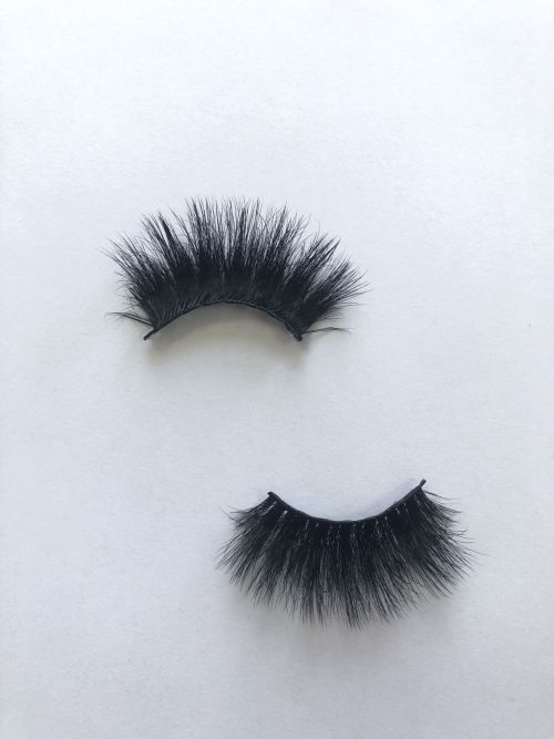 Top quality 25mm X187A style private label faux mink eyelash