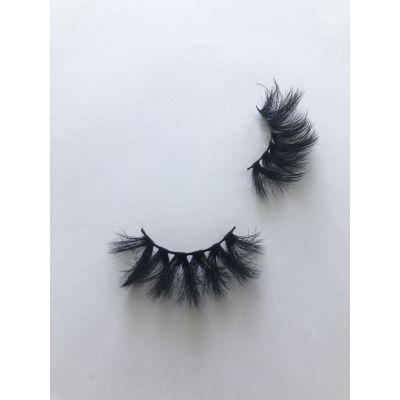 Top quality 25mm X671A style private label faux mink eyelash