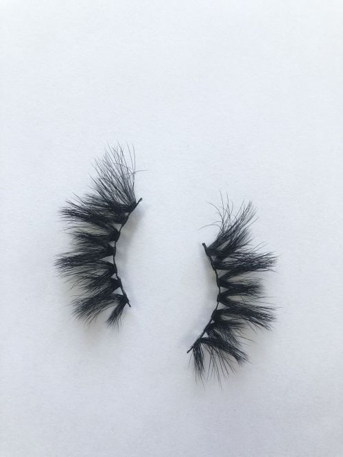 Top quality 25mm X677A style private label faux mink eyelash