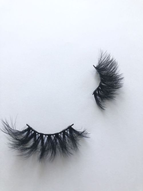 Top quality 25mm X678A style private label faux mink eyelash