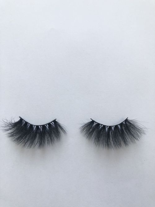 Top quality 25mm X761 style private label faux mink eyelash