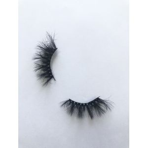 Top quality 25mm XG45 style private label faux mink eyelash