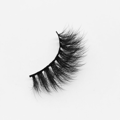 Top quality 20mm B38 style private label silk eyelash