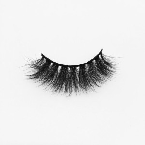 Top quality 20mm B38 style private label silk eyelash