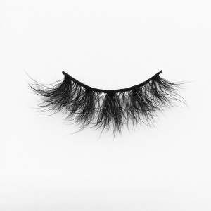 Top quality 20mm B57 style private label silk eyelash