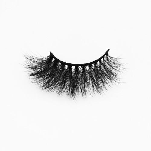 Top quality 20mm B611 style private label silk eyelash