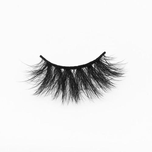 Top quality 20mm B811 style private label silk eyelash