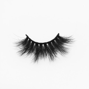 Top quality 20mm B832 style private label silk eyelash
