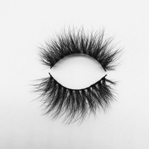 Top quality 20mm BA02 style private label silk eyelash