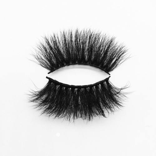 Top quality 25mm B36A style private label silk eyelash