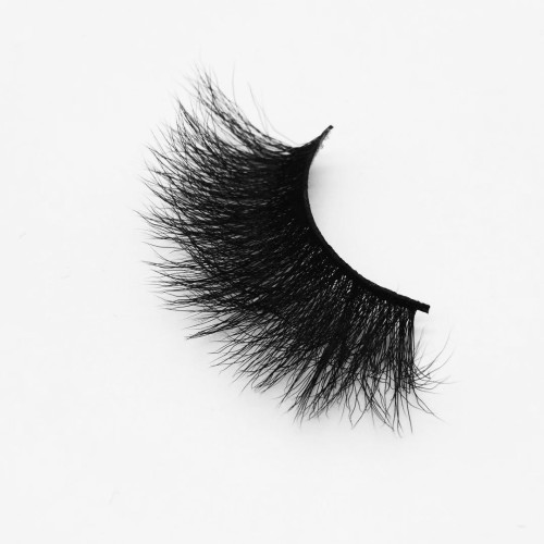 Top quality 25mm B41X style private label silk eyelash