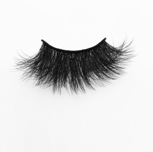 Top quality 25mm B41X style private label silk eyelash
