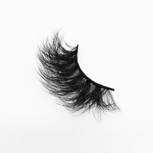 Top quality 25mm B632A style private label silk eyelash