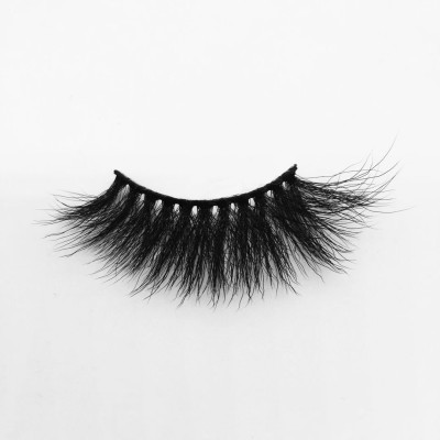 Top quality 25mm B697A style private label silk eyelash