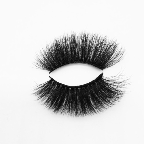 Top quality 25mm B804A style private label silk eyelash