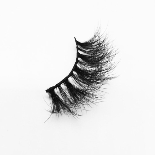 Top quality 25mm B854A style private label silk eyelash