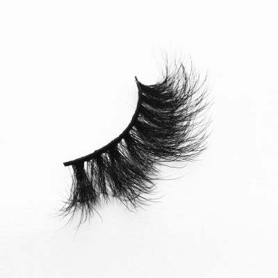 Top quality 25mm BG09 style private label silk eyelash
