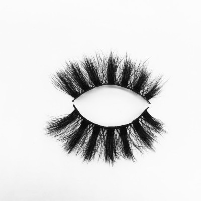 Top quality 25mm P28 style private label silk eyelash