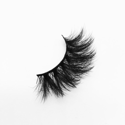 Top quality 20mm P043 style private label silk eyelash